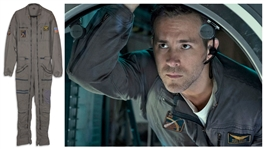 "Ryan Reynolds Screen-Worn Flight Suit From the Movie ""Life"" -- Along With His Socks"