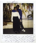 Tupac Shakur Twice-Signed Polaroid From Prison -- Tupac Signs Both TUPAC and 2PAC -- Taken the Day After Tupac Married Keisha