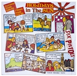 "Sex Pistols ""Holidays in the Sun Poster"" From 1977 -- The Original Poster Design That Jamie Read Was Forced to Destroy"