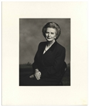 "Large 9"" x 12"" Photograph of Margaret Thatcher, Taken by Terence Donovan in 1995"