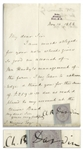Charles Darwin Letter Signed From 1868