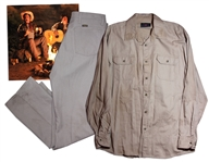 "Will Ferrells On-Screen Costume That Was Worn In The Singing Campfire Sequence Of The 2012 Comedy Cult Hit  ""Casa de Mi Padre"""