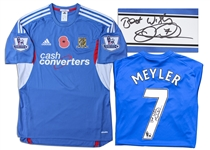 David Meyler Match Worn Hull City Football Shirt Signed