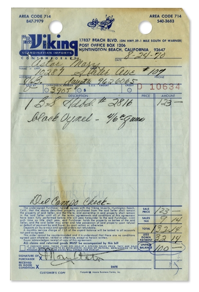 Mary Astor Collection of Carbon Documents Signed -- Including Two Motion Picture & Television Hospital Admittance Forms