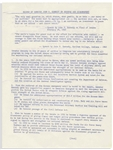 John F. Kennedy Memo on Defense & Disarmament From His Senate Files