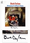 "Bob Dylan Signed Album ""Bringing It All Back Home"" -- With COA From Dylans Manager Jeff Rosen"