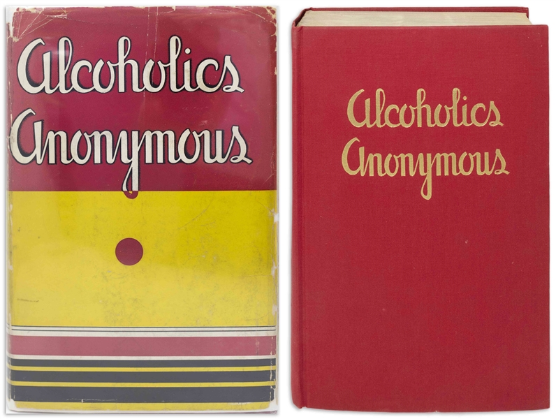 First Edition, First Printing of Alcoholics Anonymous ''Big Book'' in Original Dust Jacket -- One of the Most Attractive Copies We've Encountered, in Near Fine Condition
