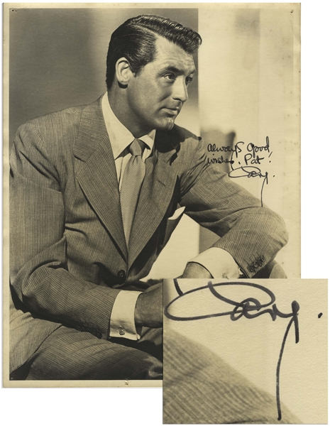 Cary Grant 11'' x 14'' Signed Photo, With Bold Signature