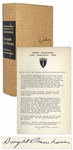 Dwight D. Eisenhower Signed D-Day Speech From the Limited Edition of Crusade in Europe