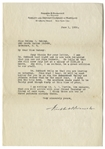 Franklin D. Roosevelt 1926 Letter Signed to Physical Therapist Helena Mahoney as the Warm Springs Facility Was About to Open -- ...there are two or three patients already there...