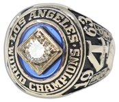 1963 Los Angeles Dodgers World Series Ring -- Belonging to the Mulvey Family Who Co-Owned the Dodgers