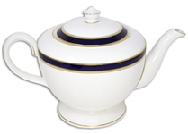 Margaret Thatcher Personally Owned China Teapot From Early 1980s, From Her Time as Prime Minister -- by Royal Worcester