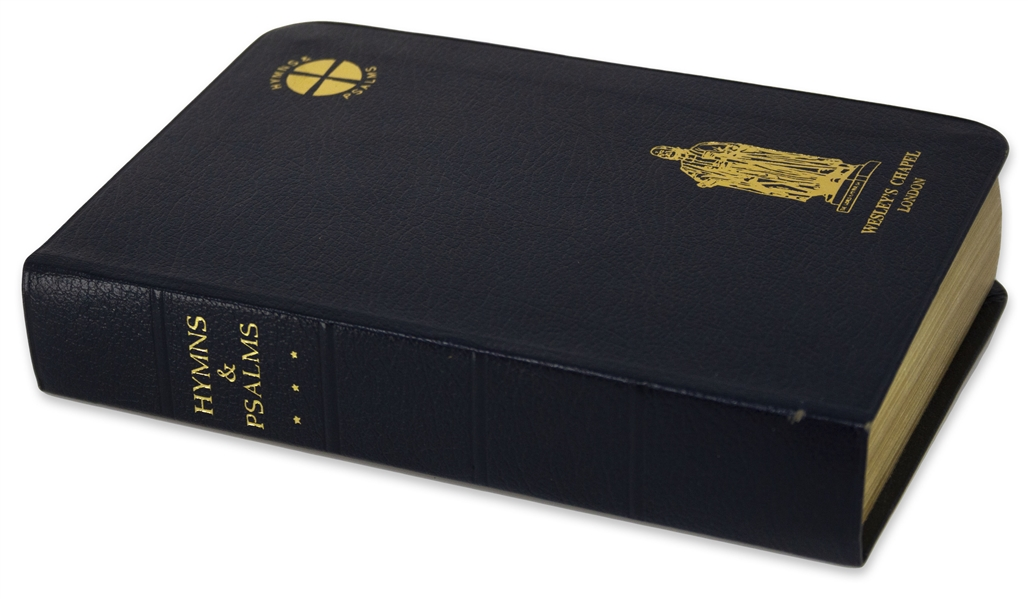 Margaret Thatcher's Personally Owned Hymnbook, Given to Her in 1989 by the Friends of Wesley's Chapel