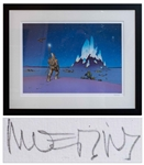 Moebius Signed Crystal Limited Edition Serigraph -- Large Artwork Measures 31.625 x 25.25 Framed, in Near Fine Condition