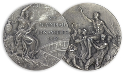 Silver Medal Awarded in the 1932 Summer Olympics, Held in Los Angeles