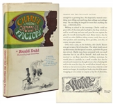 Roald Dahl Charlie and the Chocolate Factory First Printing in First Printing Dust Jacket