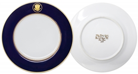 Ronald Reagan White House China Dessert Plate