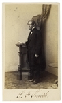 Samuel Francis Smith, Writer of America, Signed CDV Photo -- With University Archives COA