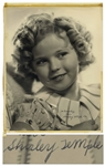 Shirley Temple Large 11 x 14 Signed Photo