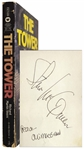 Steve McQueen Signed Copy of The Tower, Adapted Into the Hit Movie The Towering Inferno Starring McQueen -- Also Signed by Ali MacGraw