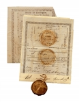 Georgia Gold Lottery Deed From 1832 -- Following the Georgia Gold Rush of 1829 & Ushering in the Trail of Tears