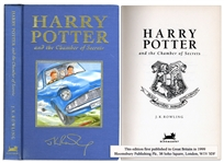 Rare Deluxe First U.K. Edition & First Printing of Harry Potter and the Chamber of Secrets
