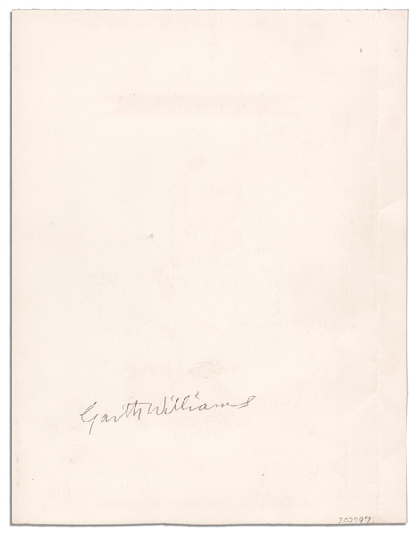 Garth Williams Hand-Drawing for the Cover Art of ''Emmett's Pig'' -- Signed by Williams on Verso