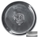 Lucille Ball Personally Owned Pewter Plate by Cartier in Original Case -- With a COA From Lucys Daughter