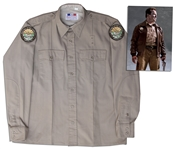Arnold Schwarzenegger Screen-Worn Hero Costume From The Last Stand
