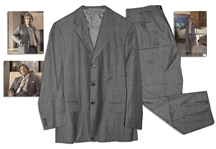 Al Pacino Screen-Worn Custom Tailored Suit From Gigli
