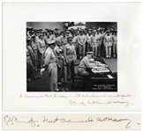 "Admiral Chester Nimitz 14"" x 11"" Signed Photo of the Japanese Surrender"