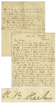 Beatrix Potter Autograph Letter Signed -- ...I have to confess I have borrowed a sled...