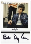 Bob Dylan Signed Album Highway 61 Revisited -- With Roger Epperson, Jeff Rosen & PSA/DNA COAs