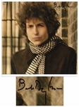 Bob Dylan Signed Double Album Blonde on Blonde -- With PSA/DNA, Roger Epperson & Jeff Rosen COAs