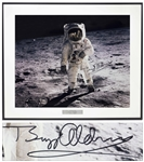 Buzz Aldrin 20 x 16 Photo Signed of the First Lunar Landing