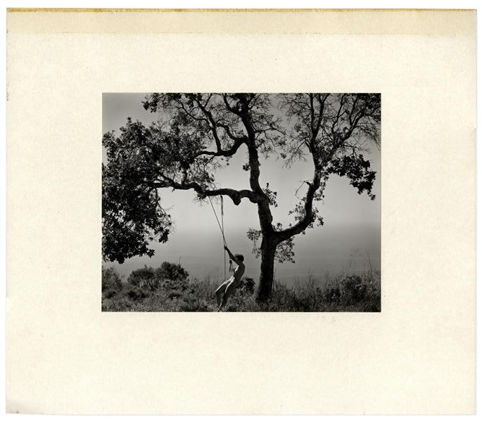 Edward Weston's ''Winter Idyll'', Printed & Signed in a Limited Edition by Cole Weston