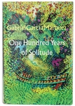One Hundred Years of Solitude First Edition by Gabriel Garcia Marquez -- Near Fine Condition