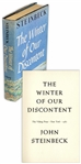 John Steinbecks The Winter of Our Discontent Limited First Edition of 500 Copies, Made For Friends of the Author & Publishers