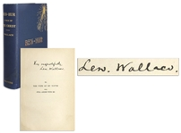 Ben-Hur: A Tale of the Christ Signed by Author Lew Wallace -- With JSA COA