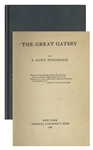 First Edition, First Printing of The Great Gatsby