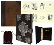 J.K. Rowling First Printing of The Tales of Beedle the Bard -- With Custom Pouch, Case & All Ten Collectors Edition Prints