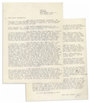 Hunter Thompson 1964 Letter on Cassius X, JFK & More -- ...Kennedy was killed, so now we sit in a limbo where the decent man has a variety of things to vote against, but nothing to vote for...
