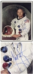 Neil Armstrong Signed 8 x 10 Photo, Uninscribed -- With Steve Zarelli & Beckett COAs