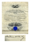 William McKinley Military Appointment Signed as President