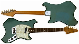 The Whos John Entwistle Personally Owned Fender Swinger Guitar From 1969 -- One of the Rarest Production Guitars Ever Made, With Provenance From Sothebys John Entwistle Estate Sale