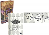 J.K. Rowling Signed First U.S. Edition of Harry Potter and the Sorcerers Stone -- Signature Certified by Beckett