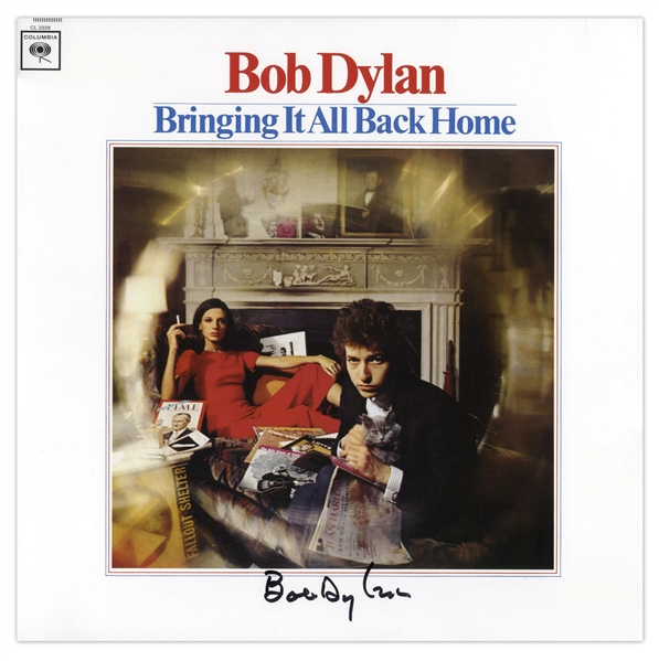 Bob Dylan Signed Album ''Bringing It All Back Home'' -- With COAs From Jeff Rosen and Roger Epperson
