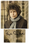 Bob Dylan Signed Double Album Blonde on Blonde -- With COAs From Jeff Rosen and Roger Epperson