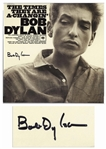 Bob Dylan Signed Album The Times They Are A-Changin -- With COAs From Jeff Rosen and Roger Epperson