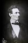 Abraham Lincoln Magic Lantern Slide -- The essentially Lincolnian Photograph